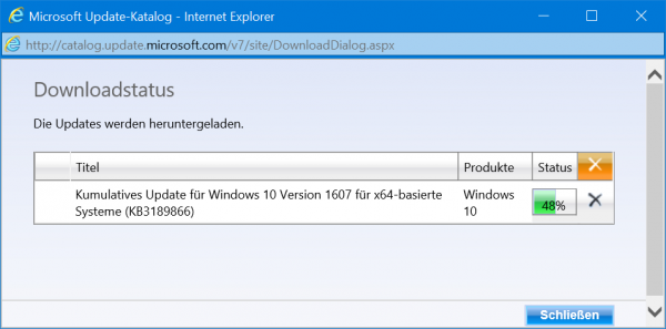 problème windows update windows 10
